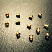 Brass Alloy Shoulder Screw for the Flashlight Industry