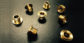 Screw Machined Brass Front Bushing for the Automotive & Aerospace Industries